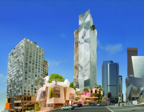 Gehry's towers and ebullient retail may be on their way out (Gehry Partners)