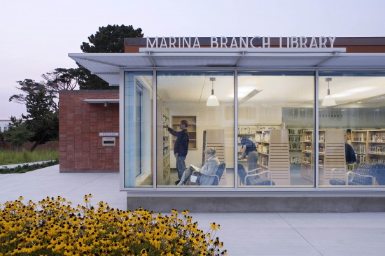 Marina Branch Library, Field Paoli (David Wakely)