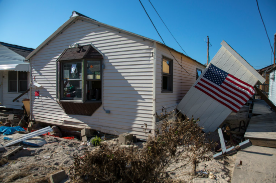 Aftermath of Hurricane Sandy (Courtesy of David Sundberg/ESTO)