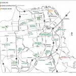 Map of library projects under the bond measure (SFPL)
