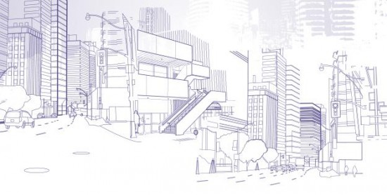 Sketch of city (Courtesy of Marron Institute)
