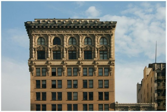 Gilmore turned the Continental Building in Downtown Los Angeles  into residences. (you-are-here.com)
