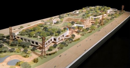 Facebook's Frank Gehry-designed expansion (Gehry Partners)
