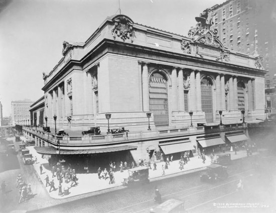 Grand Central Terminal in 1920. (Courtesy Library of Congress)