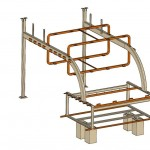CATIA model of the steel structure. (Courtesy CTC)