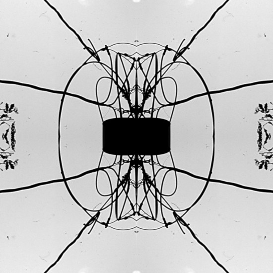 Twaddle's 2D pattern, which he derived from a photo of a power transformer. (Courtesy Topocast)