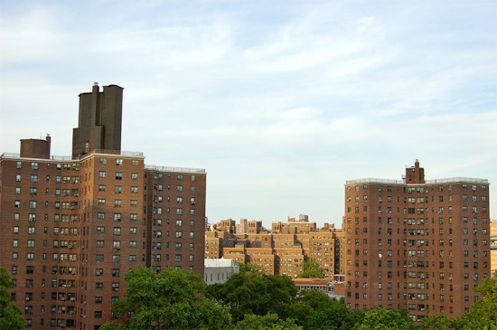 The Alfred E. Smith Houses in Manhattan. (Manuel Menal / Flickr)