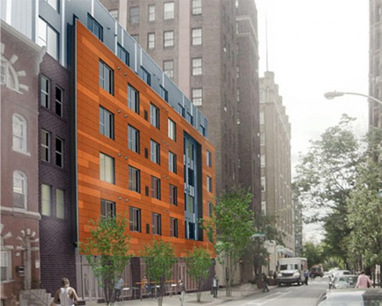 Rendering of the John C. Anderson Apartments. (Courtesy WRT)