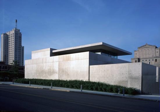 The Pulitzer Foundation by Tadao Ando. (Courtesy Pulitzer Foundation for the Arts)