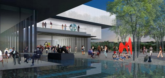 Rendering of wHY Architecture's addition to the Speed Art Museum. (Courtesy wHY Architecture)