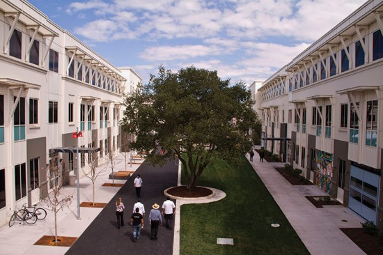 Facebook's Menlo Park HQ (Gensler)