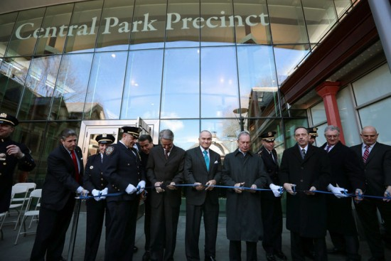 Ribbon cutting of Central Park Precinct (Courtesy of Mayors Office/Flickr)