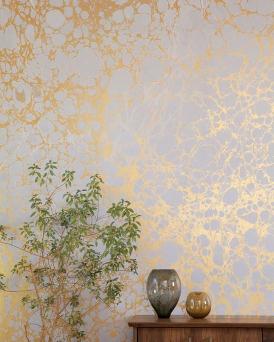 Calico's artisanal wallpaper