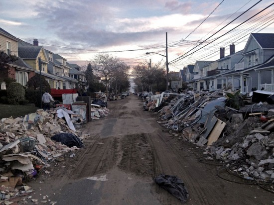 Houses in Rockaways after Hurricane Sandy (Courtesy of Anique/Ma Neek/Flickr)
