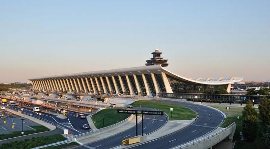 Dulles International Airport Chantilly, Virginia Eero Saarinen (1962)