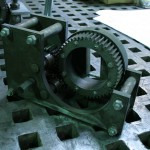 With SolidWorks software, Veyko designed and fabricated custom gears to build a custom bending jig. (Courtesy Veyko)