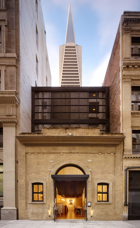 To team removed two ribs from the original design to accomodate the transition from interior to exterior. (Matthew Millman Photography)