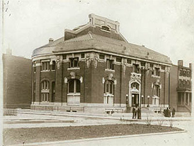 Pacific Library when it opened in 1904. (Courtesy Brooklyn Public Library)