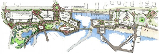 Plan to revitalize Redondo's pier and waterfront. (Courtesy CenterCal)