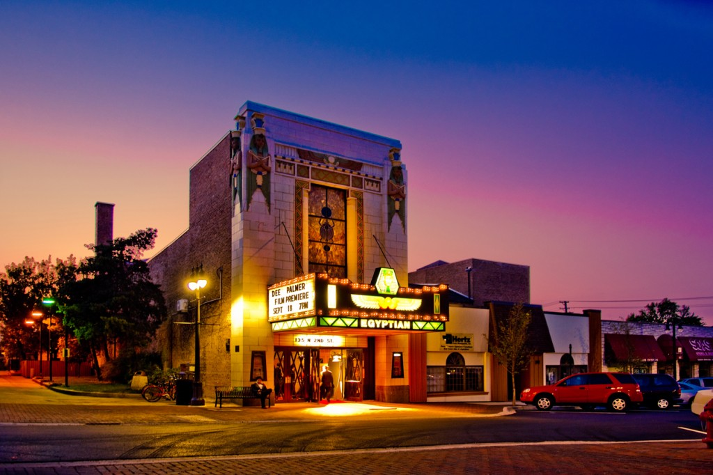 The Egyptian Theatre in DeKalb, Illinois. (Courtesy Egyptian Theatre)