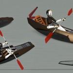 """Calm Kayak"" by Mani Zamani"