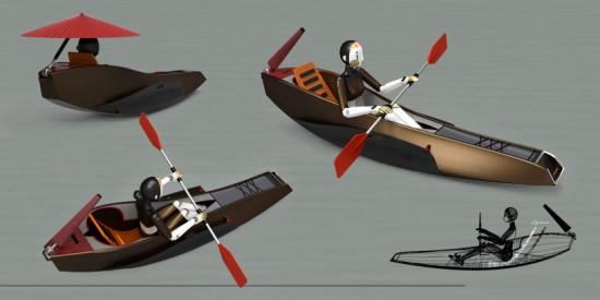 """Calm Kayak"" by Mani Zamani."