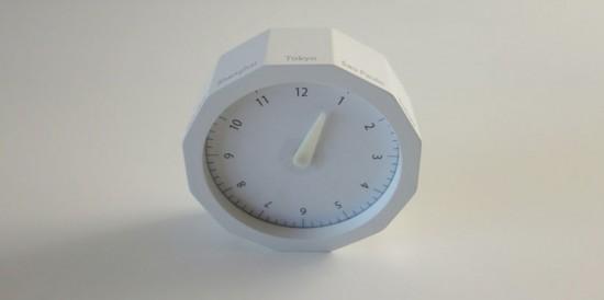 """""""World Clock"""" by Masufami Ishikawa"""