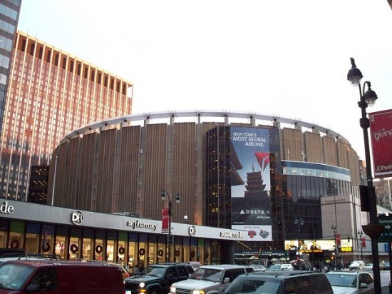 Madison Square Garden. (Thanos Papavasiliou / Flickr)