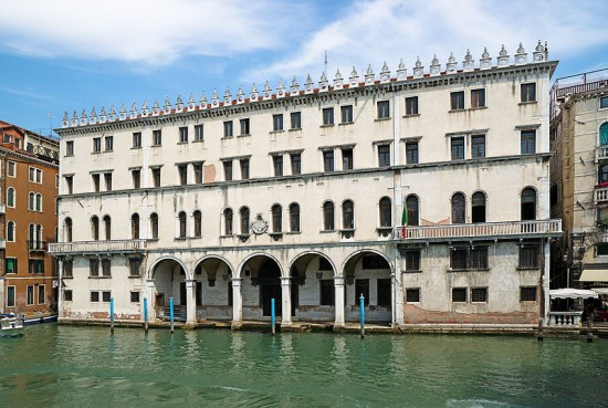 The Fondaco dei Tedeschi in Venice is currently a post office. (Courtesy Wikipedia)
