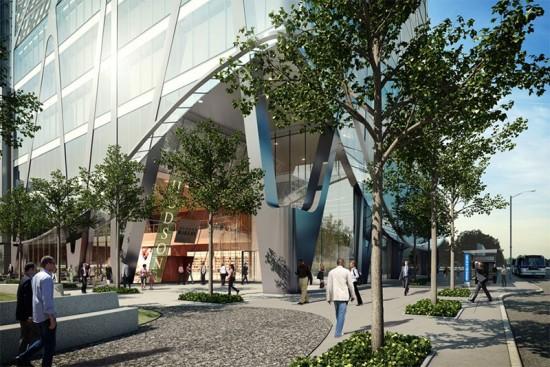 rendering of Extell's KPF-designed One Hudson Yards tower. (Courtesy One Hudson Yards)