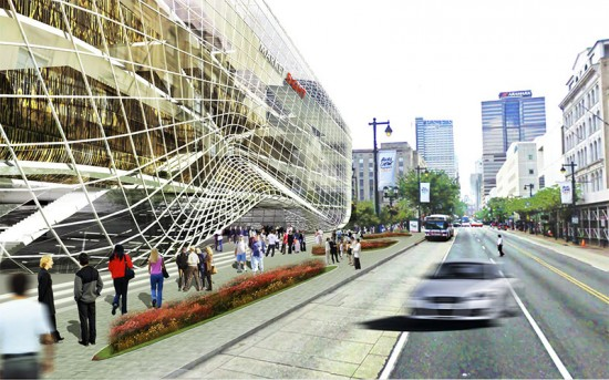 The proposed Market 8 in downtown Philly. (Courtesy of Market East Associates)