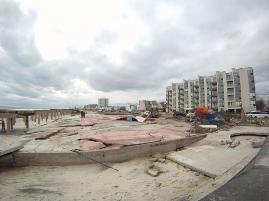 Rockaways post Hurricane Sandy (Courtesy of dakine kane)