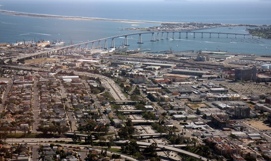 The Coronado Bay Bridge in San Diego. (Nathan Rupert / Flickr)