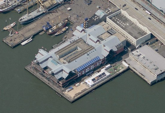 Pier 17 as it appears today. (Courtesy Bing Maps)