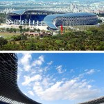 Main Stadium for the World Games 2009, Kaohsiung, Taiwan, 2009. (Fu Tsu Construction