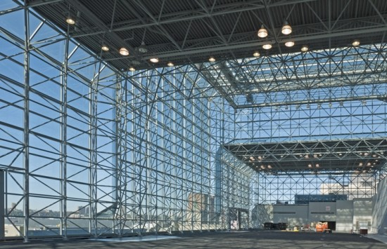 The re-cladding of the Javits Convention Center in New York City. (Courtesy Enclos)