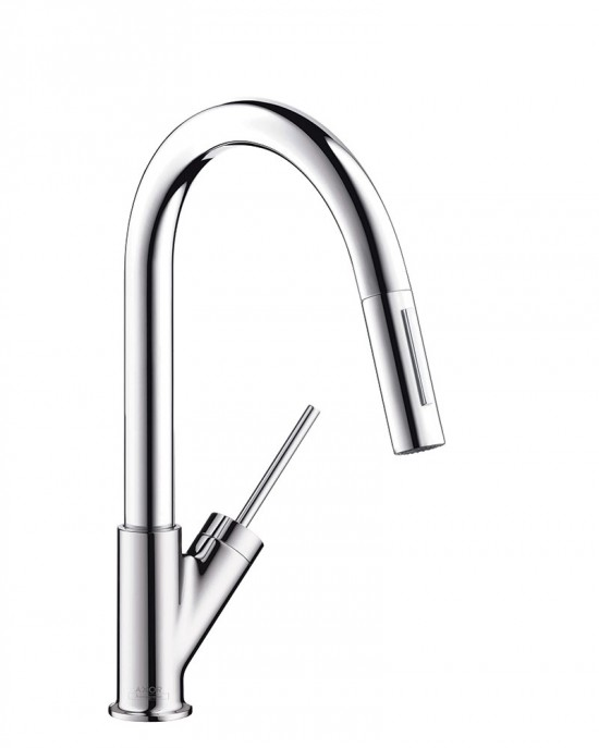 Starck High Arc Prep Kitchen Faucet by Axor