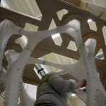 Cast Thicket was cast within the confines of a plywood scaffold. (Kenneth Tracy)