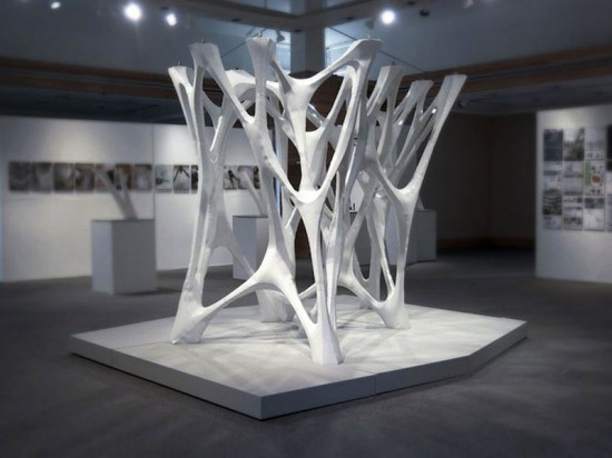 Cast Thicket is the winning submission of the APPLIED: Research through Fabrication competition.