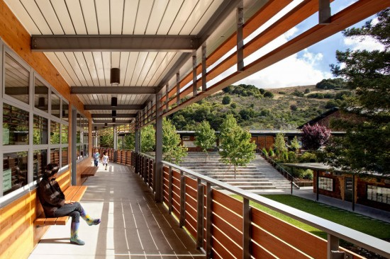 Marin Country Day School. (Josh Partee / Courtesy AIA)