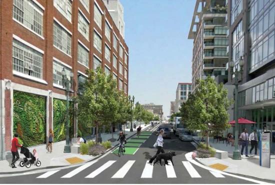 New streetscape near 11th street. (Courtesy MyFigueroa)