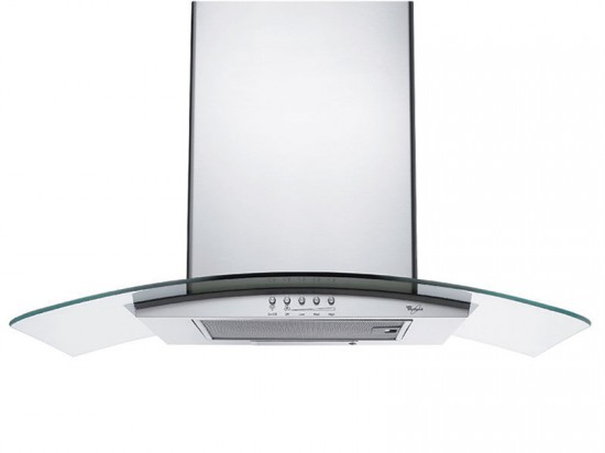 Convertible Wall Mount Glass Canopy Hood by Whirlpool