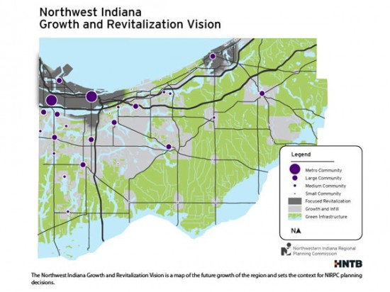 2040 Comprehensive Regional Plan: A Vision for Northwest Indiana