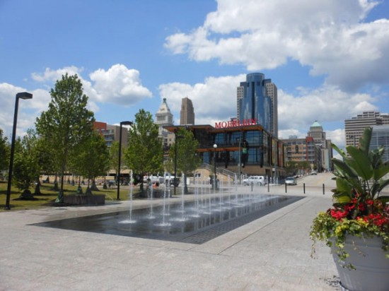 The Banks in Cincinnati. (Courtesy APA)