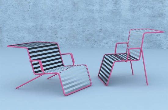 PIVOT CHAIR. SIMON KRISTAK (TEAM PROJECT). INDEPENDENT DESIGN GROUP, U.S. (THE BATTERY CONSERVANCY)