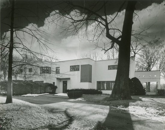 Historic view of the Rauh House. (Courtesy Cincinnati Preservation Association)
