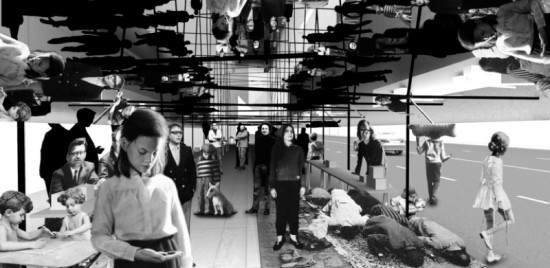 """MirrorMirror"" Interior (Courtesy Davidson Rafailidis)"