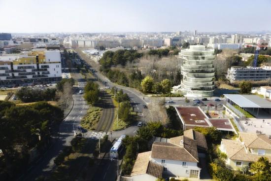 Jardins de la Lironde, Lot 2 (Courtesy Fashid Moussavi Architecture)