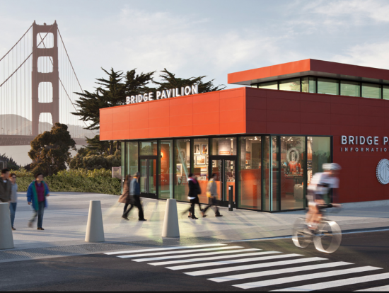 Jensen Architects' Golden Gate Bridge Pavilion (SURFACEDESIGN)