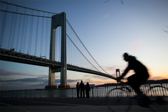 The Verrazano-Narrows Bridge. (Courtesy Harbor Ring)